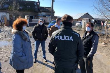 Nemzetközi orvoscsapatot vetettek be a roma közösségben Tallóson