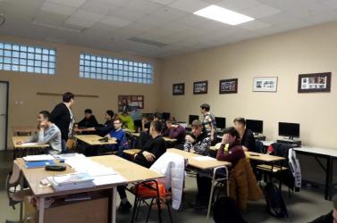 Mozgalmas volt a február a dunaszerdahelyi Műszaki Szakközépiskolában
