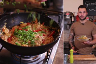 Tatai Robi: Szupergyors garnélás rizstészta