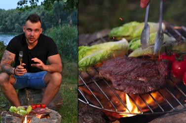 Tatai Robi: Rib-eye steak - Percek alatt a természetben