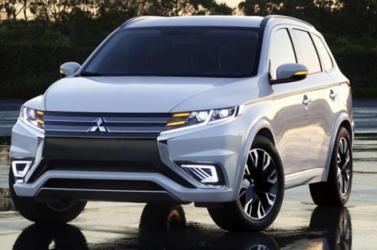 Íme, az új hibrid Mitsubishi