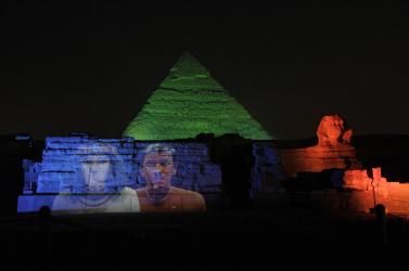 Tizenhét egyiptomi piramist fedeztek fel műhold segítségével