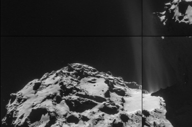 Itt van az első jó kép az üstökös kitöréseiről
