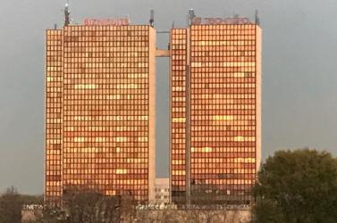 A rendőrség razziát tart a pozsonyi Technopolban