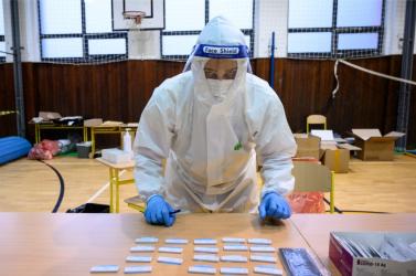 Egy picit ismét nőtt a fertőzöttek aránya Nyitrán