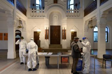 TESZTELÉS: A magyarok lakta falvak többsége kevésbé fertőzött, mint Nyitra vagy a járás