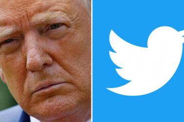 A Twitter véglegesen eltiltotta Donald Trumpot a közösségi oldal használatától
