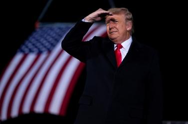 Trump ismét elítélte a Capitoliumnál kitört erőszakot, de nem tett említést az impeachmentről