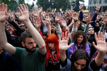 Azonnali klímavédelmi intézkedéseket követelve ezrek tüntetnek Madridban