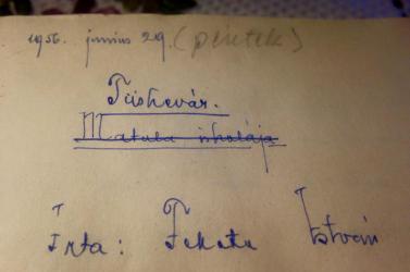Több mint húszmillió forintot is megért valakinek a Tüskevár eredeti kézirata