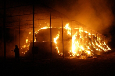 BORZALOM: Tűz ütött ki egy üzemben, legalább ötvenketten meghaltak