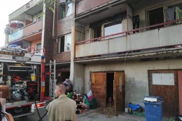 Tűz ütött ki egy lakszakállasi lakóházban!