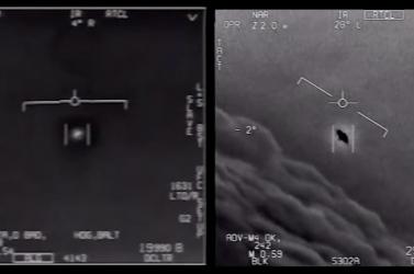 Gyakorlórepülések során készített ufóvideókat adott ki a Pentagon - VIDEÓ