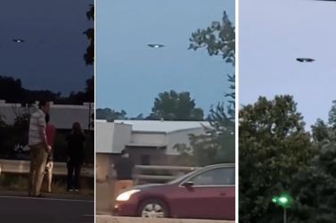 """Többen is """"UFO-t"""" videóztak, megállt az élet az autópályán (VIDEÓK)"""