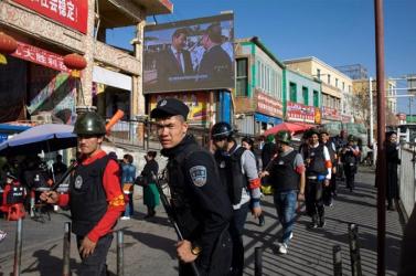 Kína elleni szankciókra szólították fel Trumpot az ujgurok elnyomása miatt