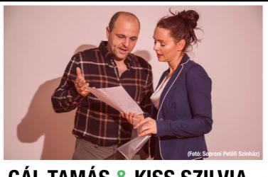 Kikötő – Polgári Szalon: Gál Tamással és Kiss Szilviával szabadúszó színjátszásról, harmóniáról, szerep-házasságokról és házassági szerepekről