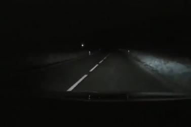 Ezek a disznók reflexmellény nélkül rohangálnak az úton...!