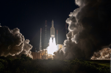 Sikeresen útjára indította250. Ariane rakétájátaz Arianespace