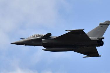 Gyakorlat közben eltűnt egy francia harci repülőgép egy hóvihar közelében