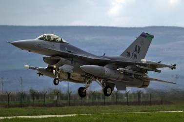Lezuhant egy F-16-os harci repülő az Egyesült Államokban