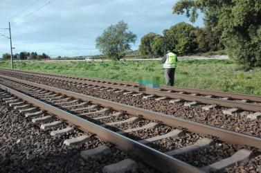 Vonat gázolt halálra reggel egy embert