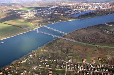 A Duna legmagasabb hídja épül Komáromban 117 millió euróból