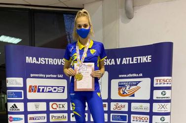 Szombaton immár 17. országos bajnoki címét szerezte Vodnyánszky Renáta