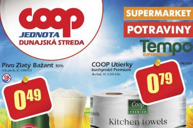 Lapozza át a COOP Jednota Dunaszerdahely augusztusi akciós újságát!
