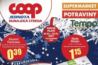 Lapozza át a COOP Jednota Dunaszerdahely januári akciós újságát!