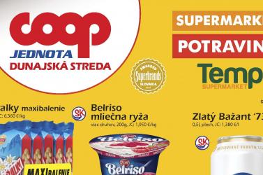 Lapozza át a COOP Jednota Dunaszerdahely májusi akciós újságát!