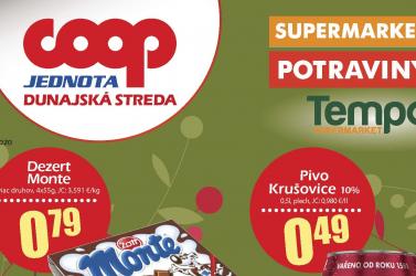 Lapozza át a COOP Jednota Dunaszerdahely októberi akciós újságát!