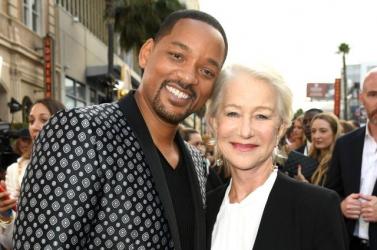 Will Smith és Helen Mirren a szabad ég alatt tölt el egy éjszakát, hogy segítsen a hajléktalanokon