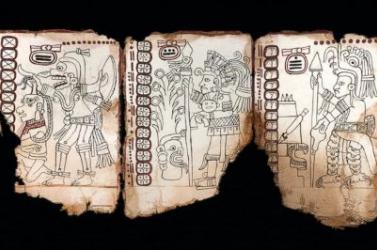 Eredetinek ítélték a legrégibb, csaknem 1000 éves maja kéziratot