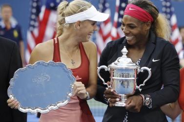 Wozniacki lesz Serena Williams párostársa