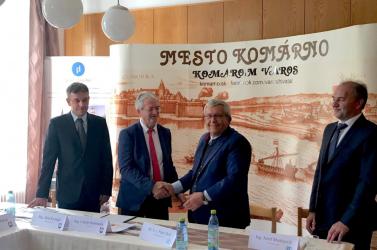 Komáromban építi meg negyedik szlovákiai üzemét a német ZF