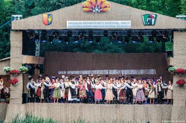 Örömünnep a Garam-partján - Országos Népművészeti Fesztivál Zselízen