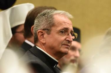 Titkos szavazáson újraválasztották a szlovák püspökök Stanislav Zvolenskýt