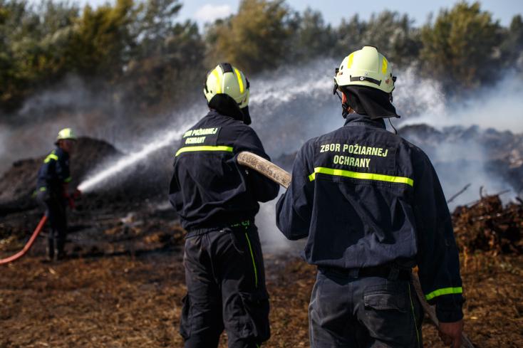 Önkéntes tűzoltók gyakorlatoztak Csallóköznádasdon - FOTÓK