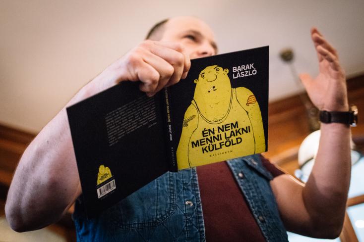 Barak László dunaszerdahelyi könyvbemutatója (FOTÓK)