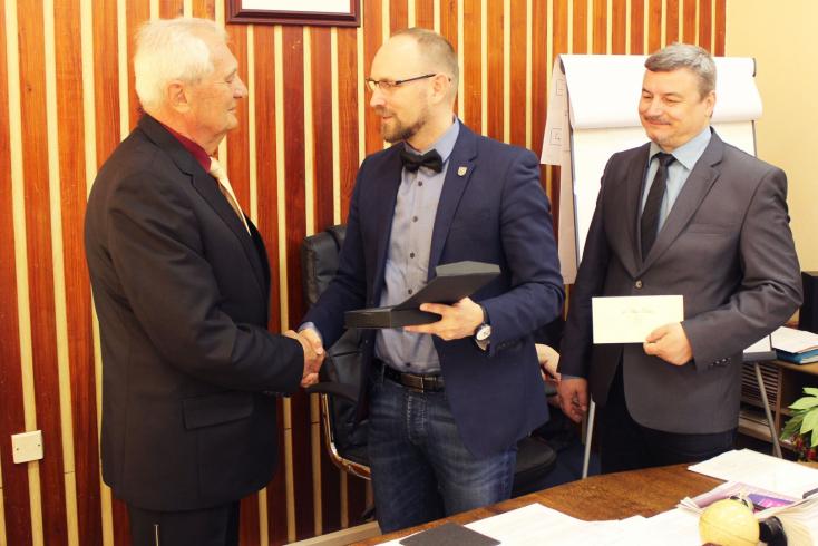 Házhoz vitte a kitüntetést Viskupič