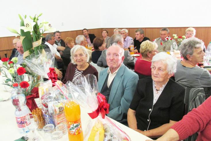 Nyugdíjasok ünnepe Csiliznyáradon