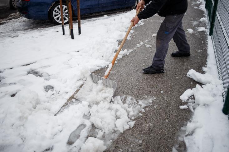 Szombaton fehér lesz a Csallóköz, vasárnap kegyetlen hideg lesz!