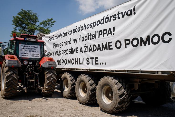Matečná nem találkozott a gazdákkal, de kijelentette, a követeléseik nagy részét már teljesítették