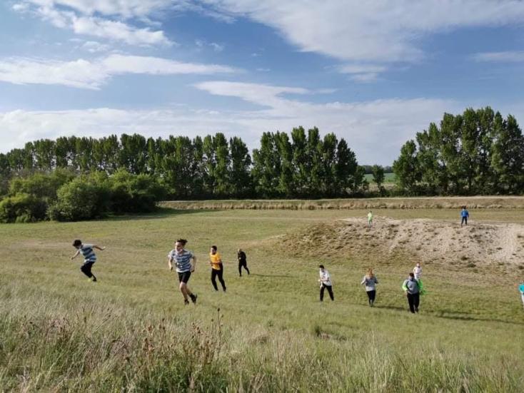 Már edzenek, a töltést rohamozzák a somorjai Gladiátorok