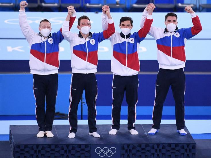 Tokió 2020: Huszonöt év után orosz arany a férfi tornászok csapatversenyében