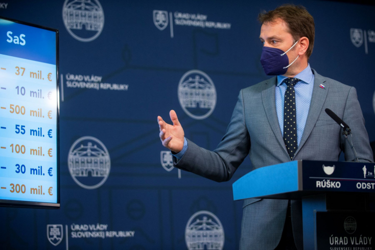 Matovič: az SaS-nek be kell húznia a farkát, meg kell szavaznia a költségvetést – újabb konfliktus a koalícióban