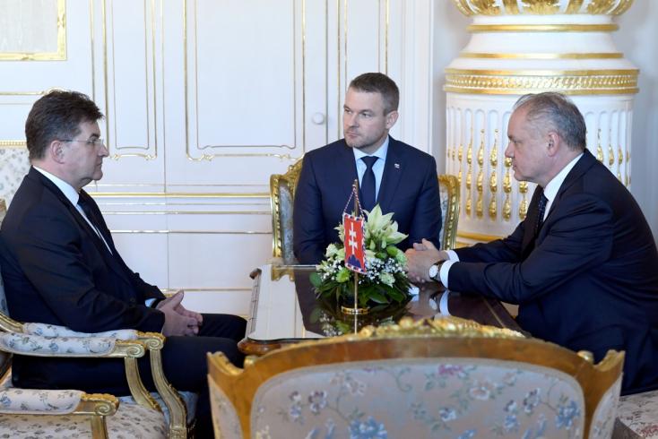 Az elnök várhatóan elfogadja Lajčák döntését
