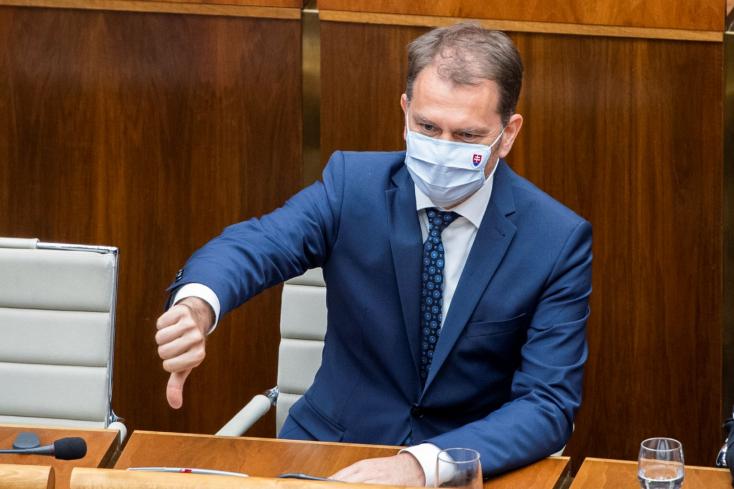 Igor Matovič marad a pénzügyminiszter, de csak 67 kormánypárti képviselő szavazott neki bizalmat