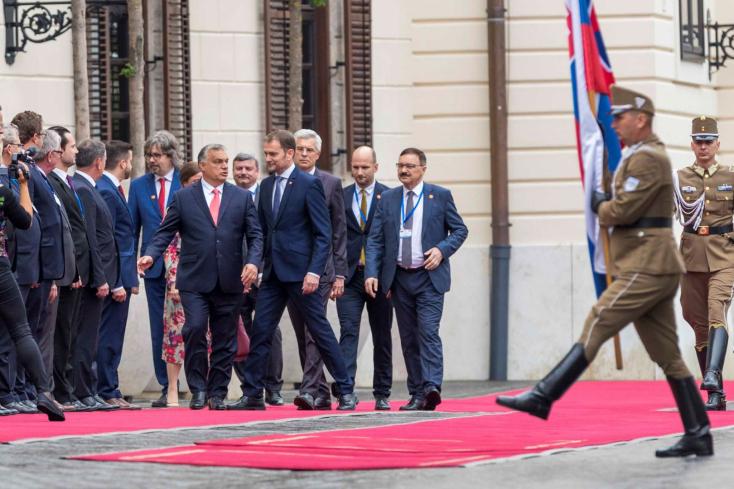 Matovič megérkezett Budapestre: Grendel Gábor és Berényi József is elkísérte - Képgalériával
