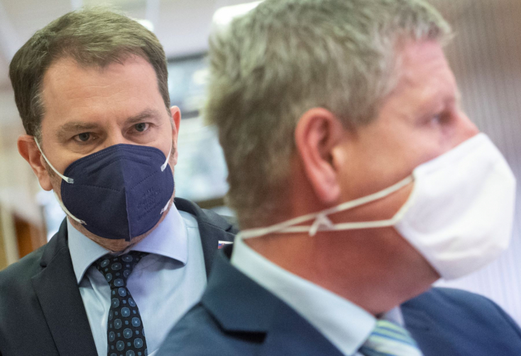LÉNYEG: Napokon belül eldőlhet, lesz-e újabb koalíciós válság, és talán elkezdődhet végre az oltási kampány is, ha Matovič ad pénzt Lengvarskýnak